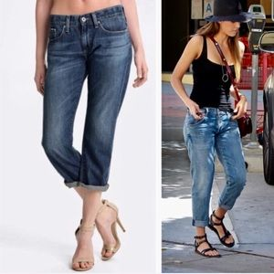 ❗️AG Adriano Goldschmied Piper Slouch Slim Crop